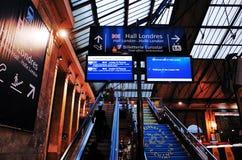 Gare du Nord station, Paris Stock Photos
