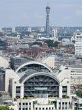 gare en travers charing de Londres Photographie stock libre de droits