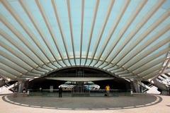 Gare fa Oriente a Lisbona Fotografia Stock