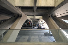 Gare fa Oriente, Lisbona Immagine Stock Libera da Diritti