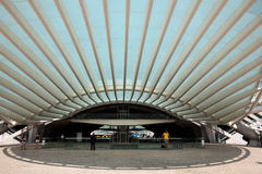 Gare faz Oriente em Lisboa Fotografia de Stock