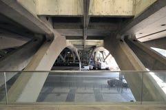 Gare faz Oriente, Lisboa Imagem de Stock Royalty Free