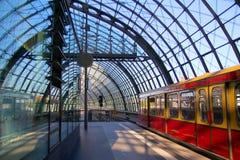 Gare ferroviaire Photo libre de droits