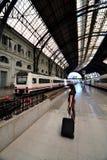 Gare ferroviaire Photographie stock