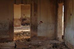 Gare ferroviaire abandonnée à Albacete photo stock