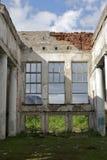 Gare ferroviaire abandonnée Photos stock