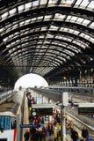 Gare ferroviaire classique Images libres de droits