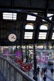 Gare ferroviaire classique Photos libres de droits