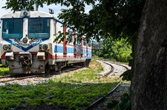 Gare ferroviaire d'abandon, Haydarpasa Image stock