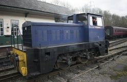 Gare ferroviaire d'héritage d'Elsecar et dépôt, Elsecar, Barnsley, événement de réchauffeur d'hiver de South Yorkshire le 19 févr Images stock