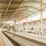 Gare ferroviaire d'Ipoh, Malaisie photo stock