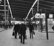 Gare ferroviaire d'Utrecht Photo stock