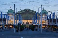 Gare ferroviaire de Bâle Image libre de droits