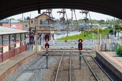Gare ferroviaire de Ballarat Photos libres de droits