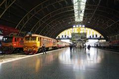 Gare ferroviaire de Bangkok Image libre de droits