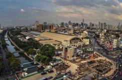 Gare ferroviaire de Bangkok Images libres de droits