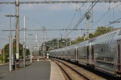 Gare ferroviaire de Bruges photo libre de droits