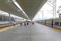 Gare ferroviaire de Chaoshan, porcelaine Images libres de droits