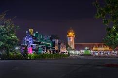 Gare ferroviaire de Chiangmai Images libres de droits