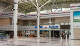 Gare ferroviaire de Dorasan, DMZ, Corée du Sud Photo stock