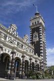 Gare ferroviaire de Dunedin, Nouvelle-Zélande image libre de droits