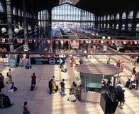 Gare ferroviaire de Gare du Nord, Paris Photos stock