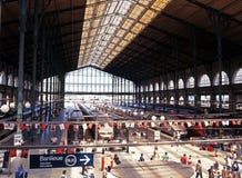 Gare ferroviaire de Gare du Nord, Paris Photo libre de droits