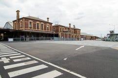 Gare ferroviaire de Geelong Image libre de droits