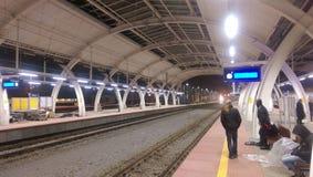 Gare ferroviaire de Gliwice - Pologne Photographie stock libre de droits
