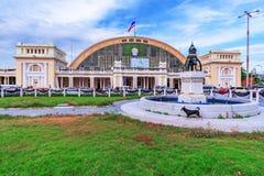 Gare ferroviaire de Hua Lamphon Photographie stock