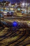 Gare ferroviaire de Keleti Photographie stock