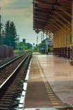Gare ferroviaire de Korat Photos stock
