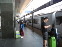 Gare ferroviaire de Kyoto Photo libre de droits