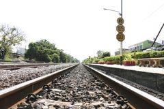 Gare ferroviaire de la Thaïlande Photos stock