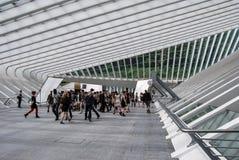 Gare ferroviaire de Liège-Guillemins, Belgique Photo libre de droits