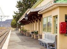 Gare ferroviaire de Matjiesfontein Photos stock