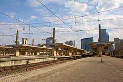 Gare ferroviaire de nord de Bruxelles Images stock
