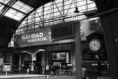 Gare ferroviaire de Retiro à Buenos Aires Image stock