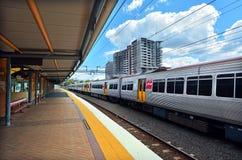 Gare ferroviaire de Roma Street Photos stock
