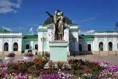 Gare ferroviaire de Syzran Image stock