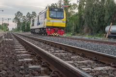 Gare ferroviaire de train de Khonkaen Photos stock