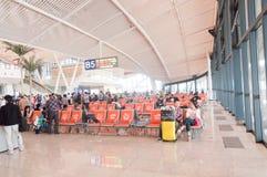 Gare ferroviaire de Wuhan Photographie stock libre de droits