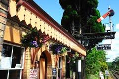 Gare ferroviaire, Hampton Loade Images libres de droits
