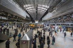Gare ferroviaire Londres de Paddington Images libres de droits