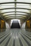 Gare ferroviaire moderne Liège-Guillemins de Luik-Guillemins Image libre de droits
