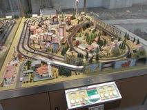 Gare ferroviaire principale de Dresde, Allemagne Images stock