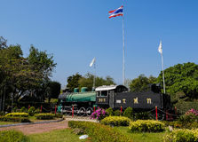 Gare ferroviaire Thaïlande de Hua Hin Images stock