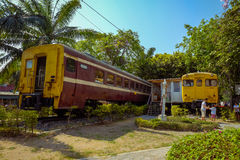 Gare ferroviaire Thaïlande de Hua Hin Image stock