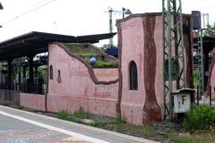 Gare ferroviaire Uelzen de Hundertwasser Photo stock
