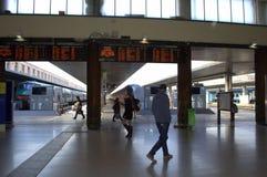 Gare ferroviaire Venise Photo libre de droits